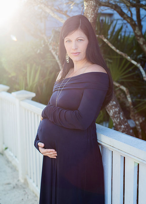 Santa Rosa Beach Maternity Photos